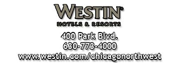 Westin Hotels and Resorts logo and contact information