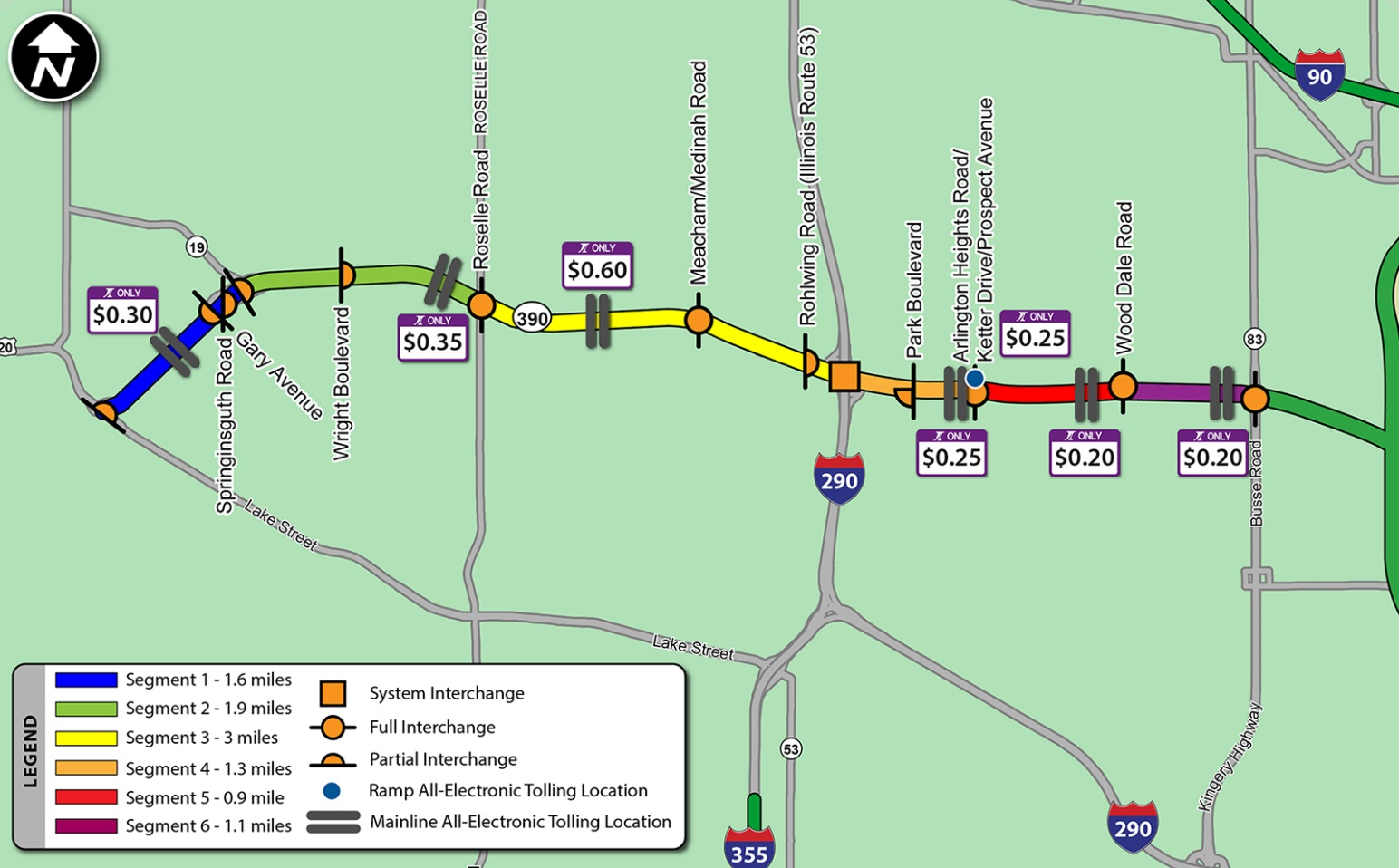 Ipass Toll Map Pictures To Pin On Pinterest PinsDaddy - Map of illinois tollway system