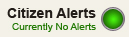 Citizen Alerts - No Current Alerts